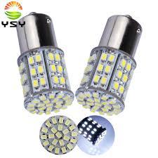 <b>10X 1157 BAY15D</b> S25 64 SMD 1206 LED Turn Light 64 Leds Cold ...