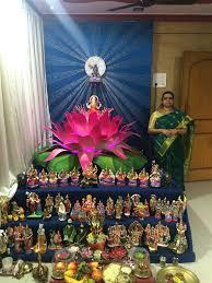 Golu Decoration Tips Jayashrees Lotus Themed Golu Http Bitly 1xt9dk1 Bommalu