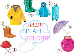 clothes we wear in rainy season clipart clipartfox clothes for wet weather