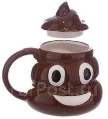 <b>Кружка</b> 3D <b>Emoji</b> (<b>Эмодзи</b>/Эмоджи позитивная какашка ...