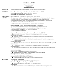 google resume objective examples cipanewsletter cover letter resume objective for marketing position resume