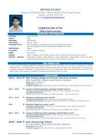 Cv resume sample for fresh graduate of office administration Cv resume sample for fresh graduate of office administration. https://sites.google.com/site/huynhbahoc/ http: ...