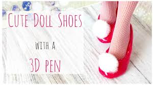 <b>Doll Shoes with</b> a 3D pen - Cute Pink <b>Doll Shoes</b> - Monster High ...