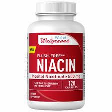 Walgreens Flush-Free Niacin Capsules 500mg ... - Fry's Food Stores
