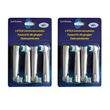 <b>8Pcs</b> Compatible <b>Replacement electric toothbrush</b> Heads For Braun ...