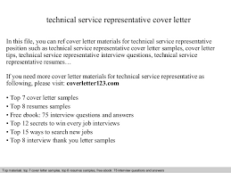technical service representative cover lettertechnical service representative cover letter in this file  you can ref cover letter materials for