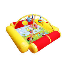 <b>Biba Toys Развивающий коврик</b> Друзья БЮССИ с надувными ...