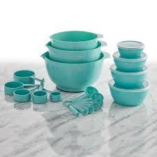 Farberware Professional 23 <b>Piece</b> Aqua <b>Mix</b> and Measure Baking Set