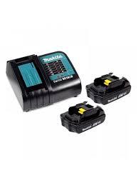 <b>Аккумулятор</b> BL1815N (<b>18 В</b>, 1,<b>5 Ач</b>) 2 шт. и зарядное устройство ...