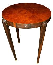 ruhlmann style custom art deco side table art deco furniture san francisco