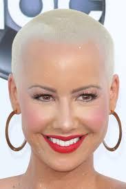 Amber Rose at the 2012 Billboard Music Awards Arrivals at MGM Grand in Las Vegas, NV on May 20, 2012. Platinum Blonde, Buzz Cut, Short, - amber-rose-hair-2