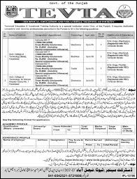 jobs in technical education vocational training authority faisalabad jpg jobs in technical education vocational training authority faisalabad