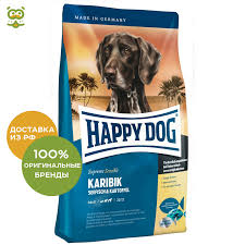 <b>Happy Dog Supreme</b> Sensible Karibik adult dog food of all breeds ...