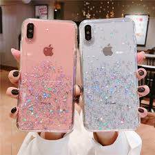 Heyytle <b>Glitter Bling Sequins</b> Case For iphone 8 7 Plus 6 6s Epoxy ...