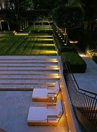 indirect side lighting to be used exterior and in pool house bathroom sink inset awesome modern landscape lighting design ideas bringing