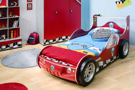 racing car bedroom