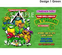 ninja turtle birthday invitations net excellent ninja turtle birthday party invitations theruntime birthday invitations