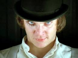 "A Clockwork Orange by Stanley Kubrick (1971, 136 min.). Malcolm McDowell gives an iconic performance as Alex, a violent ""droog"" who commits unforgivable ... - a-clockwork-orange-original-0001.showcase_3"