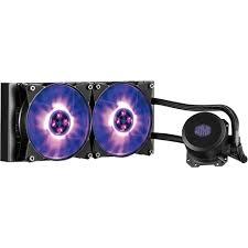 <b>Cooler Master MasterLiquid</b> ML240L RGB 120mm Processor Liquid ...