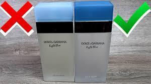 Dolce Gabbana Light Blue как отличить оригинал от подделки ...