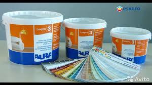 <b>Краска в/д Aura Luxpro</b> 3 интерьерная, матовая купить в Санкт ...