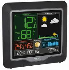 <b>Цифровая метеостанция TFA</b> 35.1150.01 - купить по низкой цене ...