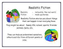 Image result for realistic fiction
