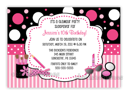 birthday party invitation template word invitations ideas ten