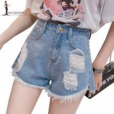 <b>Summer</b> Denim <b>Women Shorts</b> Casual <b>2019</b> New Vintage High ...