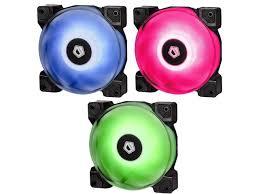 <b>ID</b>-<b>Cooling</b> SF-<b>12025</b>-<b>RGB Trio</b> Fan Kit Review - Legit ReviewsID ...