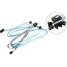 SAS <b>кабель Supermicro CBL</b>-0388L 0.9 метра (2 <b>кабеля</b>), 0.75 ...