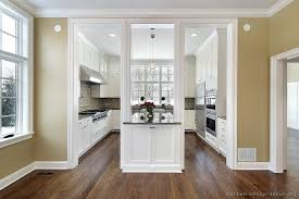 pictures kitchens traditional white cabinets