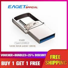 Shop Generic <b>EAGET CU20</b> USB3.0 <b>Type</b>-<b>C</b> Pendrive USB OTG ...