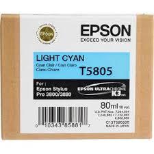 <b>Картридж Epson</b> C13T580500 (T5805), оригинальный, <b>cyan</b> light ...