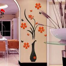 Buy <b>flower wall stickers</b> for living room home and get free shipping ...