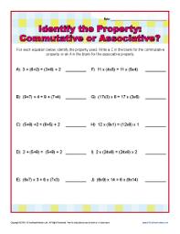 Worksheet On Properties Of Addition For Grade 2 - Properties ...Math Worksheet : Properties Of Addition Worksheet 3rd Grade Properties worksheets Worksheet On Properties Of Addition