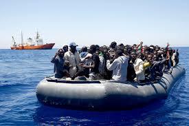 Αποτέλεσμα εικόνας για Italy african migrants boat