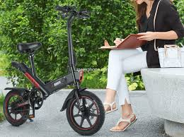 <b>DOHIKER</b> Y1 Review - <b>Folding Electric Bicycle</b> at $549.99 (Coupon)