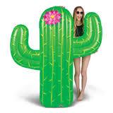 <b>Матрас надувной</b> для плавания Cactus 170 х 150 см зеленый ...