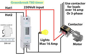 how to wire timers greenbrook t80 timer wiring