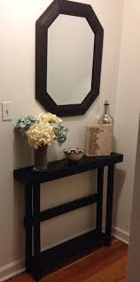i love how skinny this table is our entry is too narrow for much furniture cheap entryway furniture