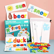 Spelling Game Toy Kids 26 English Alphabet Letters ... - Amazon.com