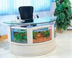 aquarium office table aquarium office
