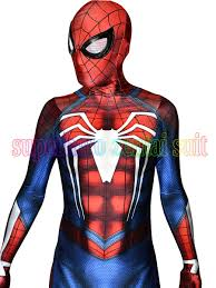 NEW <b>PS4 INSOMNIAC SPIDERMAN COSTUME</b> 3D Print Spandex ...