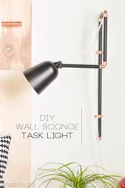 diy lighting ideas for teen and kids rooms diy wall sconce task lights fun awesome 15 task lighting