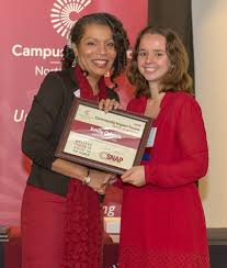 warren wilson college senior honored for community impact warren warren wilson college senior emily odgers receives the 2016 community impact award from leslie garvin