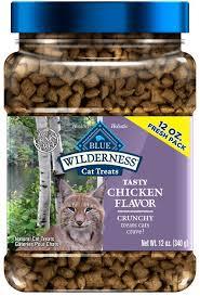 Blue Buffalo Wilderness Chicken Formula <b>Crunchy Grain-Free</b> Cat ...