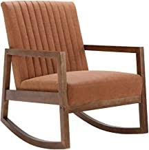 Brown Faux Leather Armchair - Amazon.com