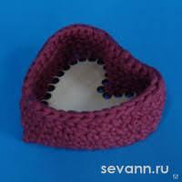 <b>Вязаная шкатулка</b> в форме сердца, цена в Нижнем Новгороде от ...