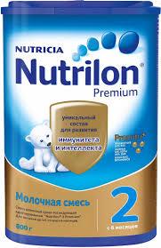 <b>Сухая молочная смесь Nutrilon</b> Premium 2 с 6 мес., 800 г: с ...